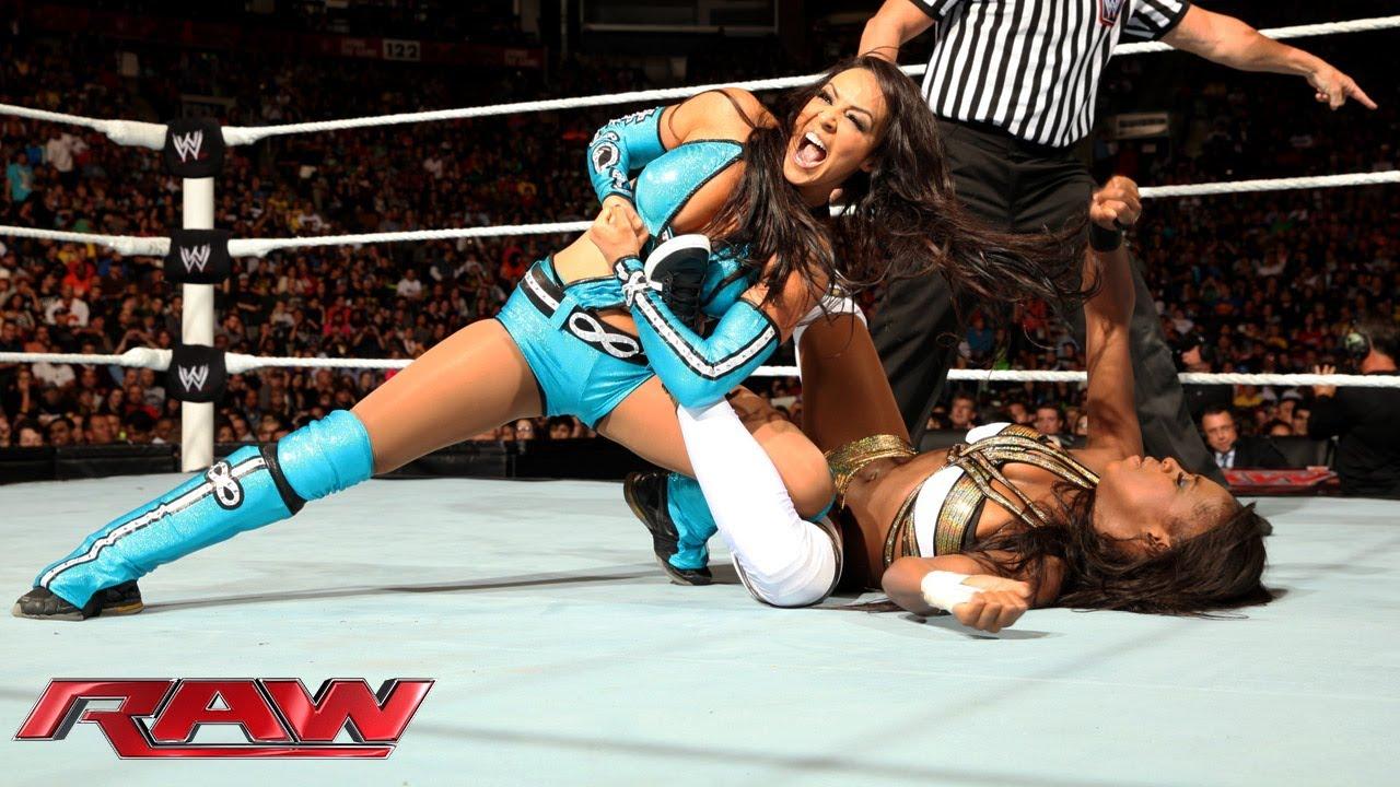 Natalya  Naomi  Brie Bella Vs Layla  Alicia Fox -3384