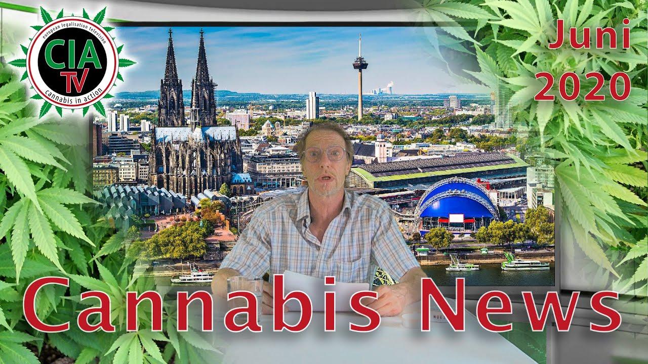 Cannabis NEWS Juni 2020 - Schweiz, Israel, Köln, Ludwig, Grinspoon
