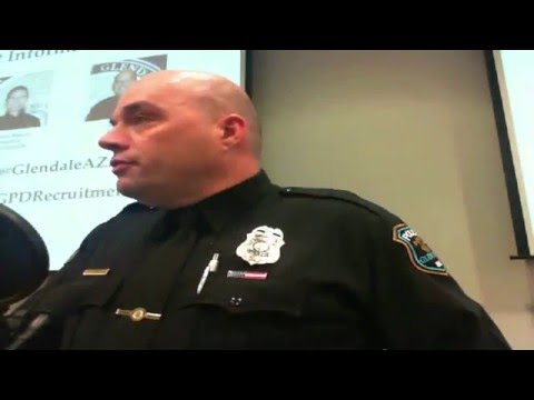 Glendale Police Officer Recruit Orientation January 12, 2016 Live Stream