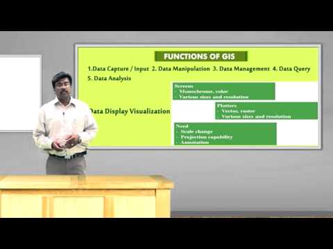 5 Geographical Information System GIS