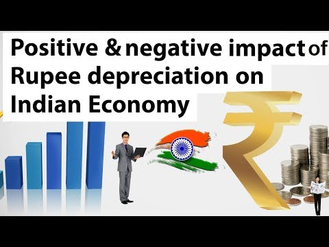 Indian Rupee against US Dollar, Rupee depreciation & its impact on Economy, Current Affairs 2018