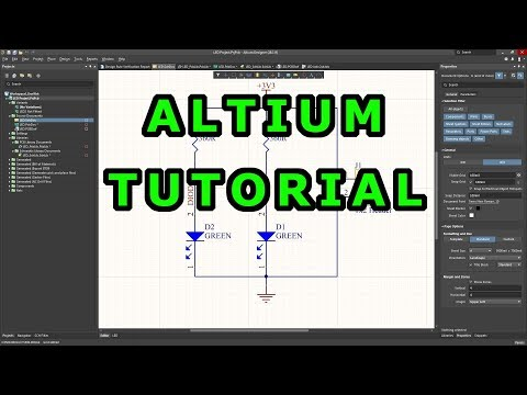 Tutorial 1 for Altium Beginners: How to draw schematic and create schematic symbols