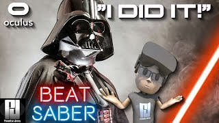 I DID IT! - BEAT SABER VR // Oculus + Touch // GTX 1060 (6GB)