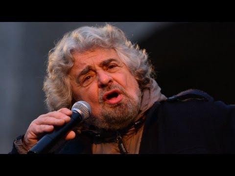 Beppe Grillo, The clown prince of Italian politics.