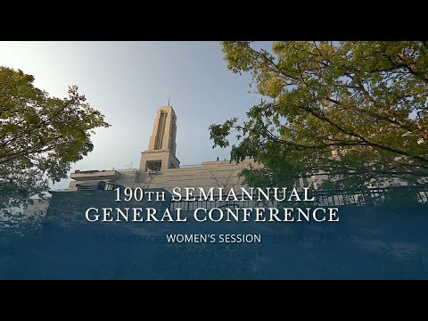 October 2020 General Conference | Women's Session