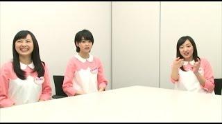 X21メンバーが収録の反省会を開催! 今回のメンバーは 松田莉奈、佐川実...