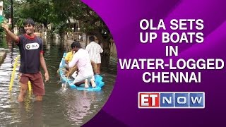 Ola Sets Up Boats In Water-Logged Chennai To Ferry Citizens To Safer Areas