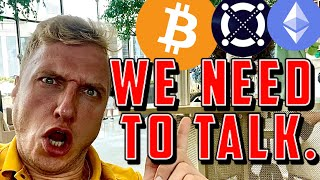 WE NEED TO TALK.. [bitcoin, ethereum & elrond]