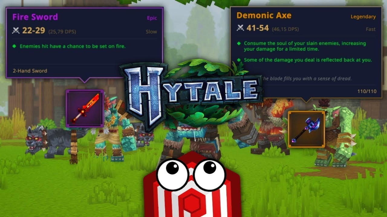 *NEW* HYTALE RELEASE DATE AND GAMEPLAY INFO! - HYTALE - Hypixel's New Game!