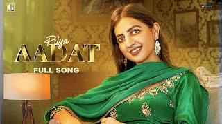 Aadat - Priya Mp3 Song Download