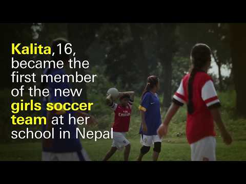 Trading Arranged Child Marriage for Soccer in Nepal | Kalita's Story