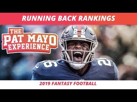 2019 Fantasy Football RB Rankings, Tiers, Sleepers, Busts And Debate — First Look