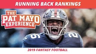 2019 Fantasy Football RB Rankings, Tiers, Sleepers, Busts and Debate — First Look