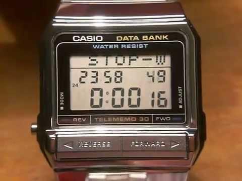 cfb2f4c5c2b CASIO DATABANK DB-310 THELE MEMO - YouTube