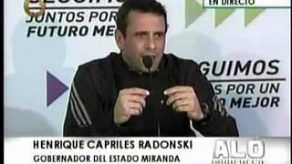 El TSJ le resolvió un problema al partido de gobierno, dice Capriles Radonski