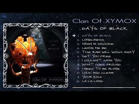 Clan Of Xymox - Days Of Black (Album Player)