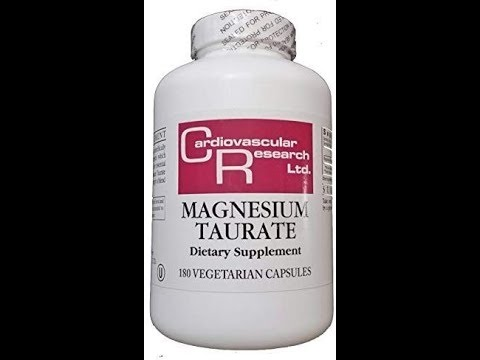 Cardiovascular Research Magnesium Taurate Capsules 180 Count