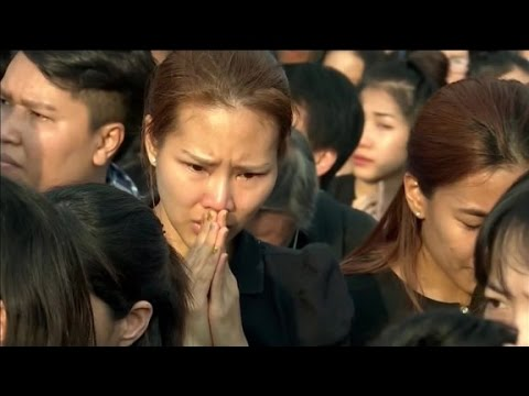 Thailand mourns loss of King Bhumibol Ajulyadej