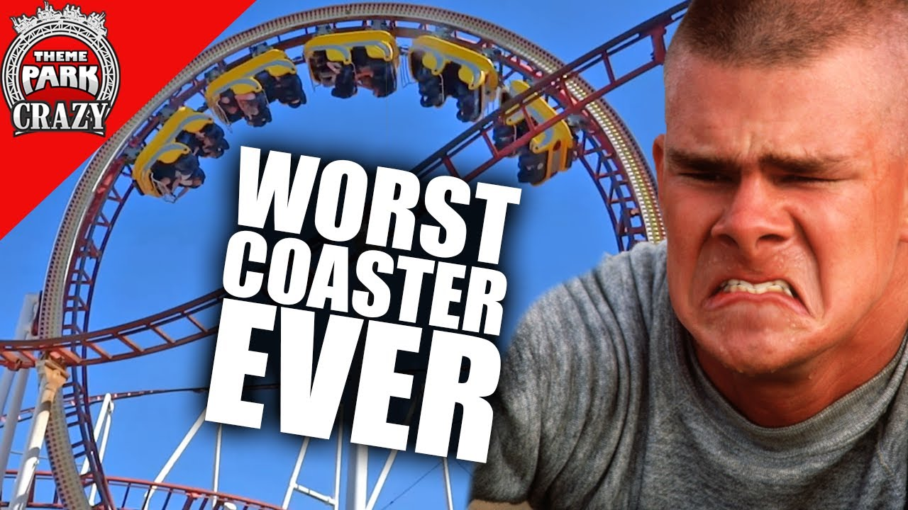 The WORST Roller Coaster Ever - The History of Tornado at M&D's Theme Park