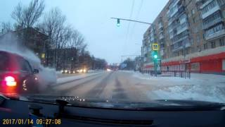 ДТП Смоленск ул. Кирова 14.01.2017