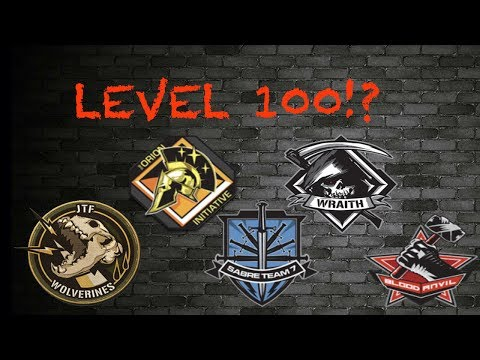 WHAT HAPPENS WHEN YOU GET LEVEL 100 ON ALL MISSION TEAMS?