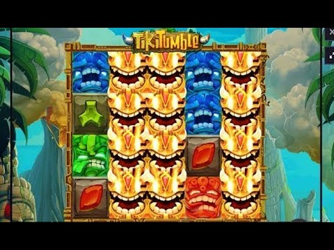 TIKI TUMBLE: a first try with this online casino game
