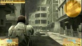 "MGS4 ""BIG BOSS"" Speed run  1:34:13  Act1.2 ""MILLITA SAFE HOUSE - ADVENT PALACE"""