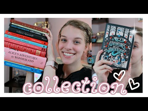 Alice In Wonderland Book Collection! || Chloe's Crazy Life