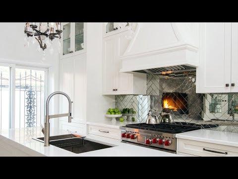 Kitchen Tour | Designer Andrew Pike's Glamorous Kitchen Makeover
