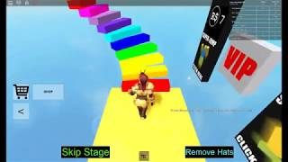 playing roblox's most fasil parkour