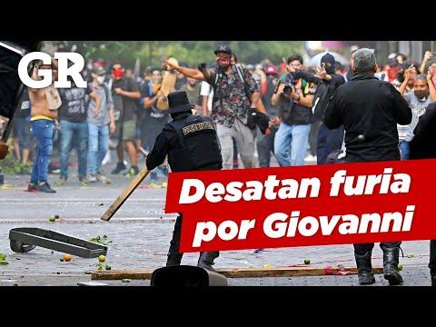 Así fue la protesta en GDL por el asesinato de Giovanni