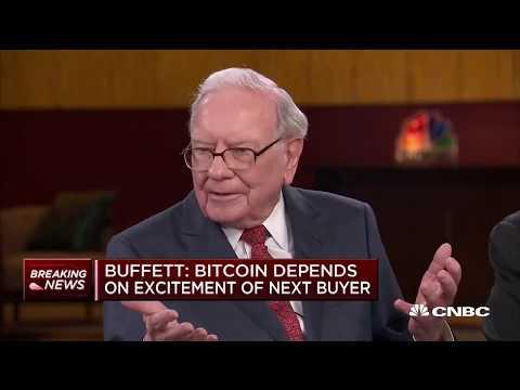 Warren Buffett, Bill Gates Blast Bitcoin as Non Productive Asset, Bad Investment   CNBC May 2018