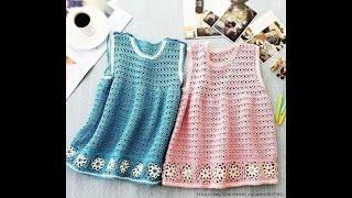 Crochet Patterns  for  crochet baby dress  3146