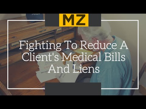 Reducing Personal Injury Victim's Medical Bills And Liens