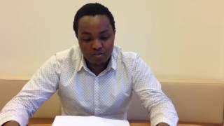 Voorleesweek 2016 bij Kind en Gezin: Sam leest in het Swahili
