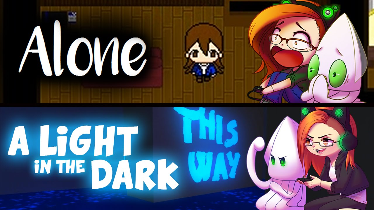 Alone | A Light in the Dark ~itch.io Game Double Feature~ SHORTEST GAMES EVER