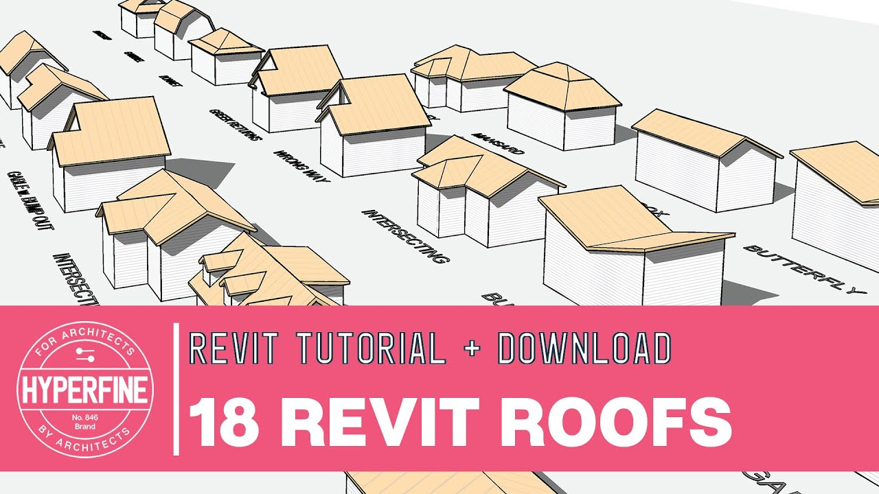 Revit Roof Tips And Tricks 18 Roofs In 11 Minutes Youtube