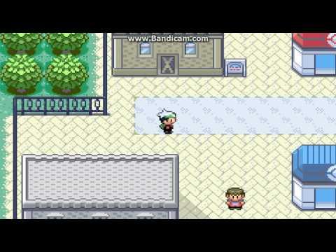pokemon emrald เอาท่า cut ตัดต้นไม้