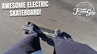 AWESOME ELECTRIC SKATEBOARD FOR $500! (TeamGee H20)