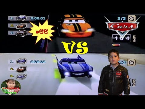 DISNEY PIXAR CARS - MATER NATIONAL - PART#66 - ORNAMENT VALLEY - OTTO VS FLO