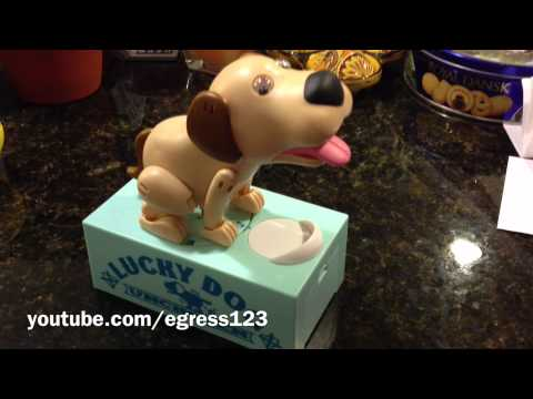 Doggy Coin Bank 2!! - Weird Japanese Toys