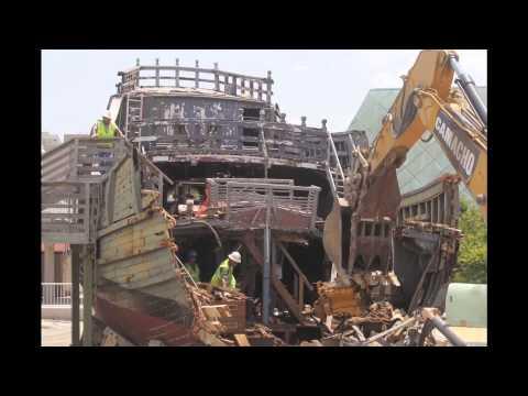 Columbus Ship Demolition