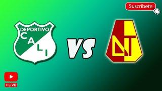 Deportivo Cali vs Deportes tolima en vivo