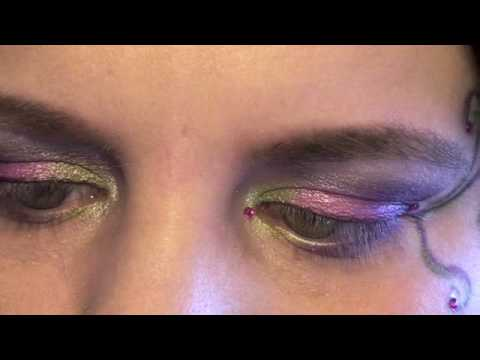 Fairy Fee Make Up Fur Karneval Fasching Youtube