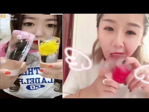 [ASMR NO TALKING] Ice Eating ASMR - (Eat the whole word) / Ice Chewing #109