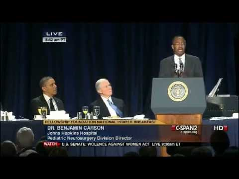 dr benjamin carson speech outline United states secretary of housing and urban development and former  presidential candidate dr benjamin carson will address the liberty.