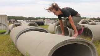 Girl Parkour and Freerunning - Silky Sam, Sarasota FL