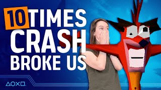 10 Crash Bandicoot Moments That Totally Broke Us