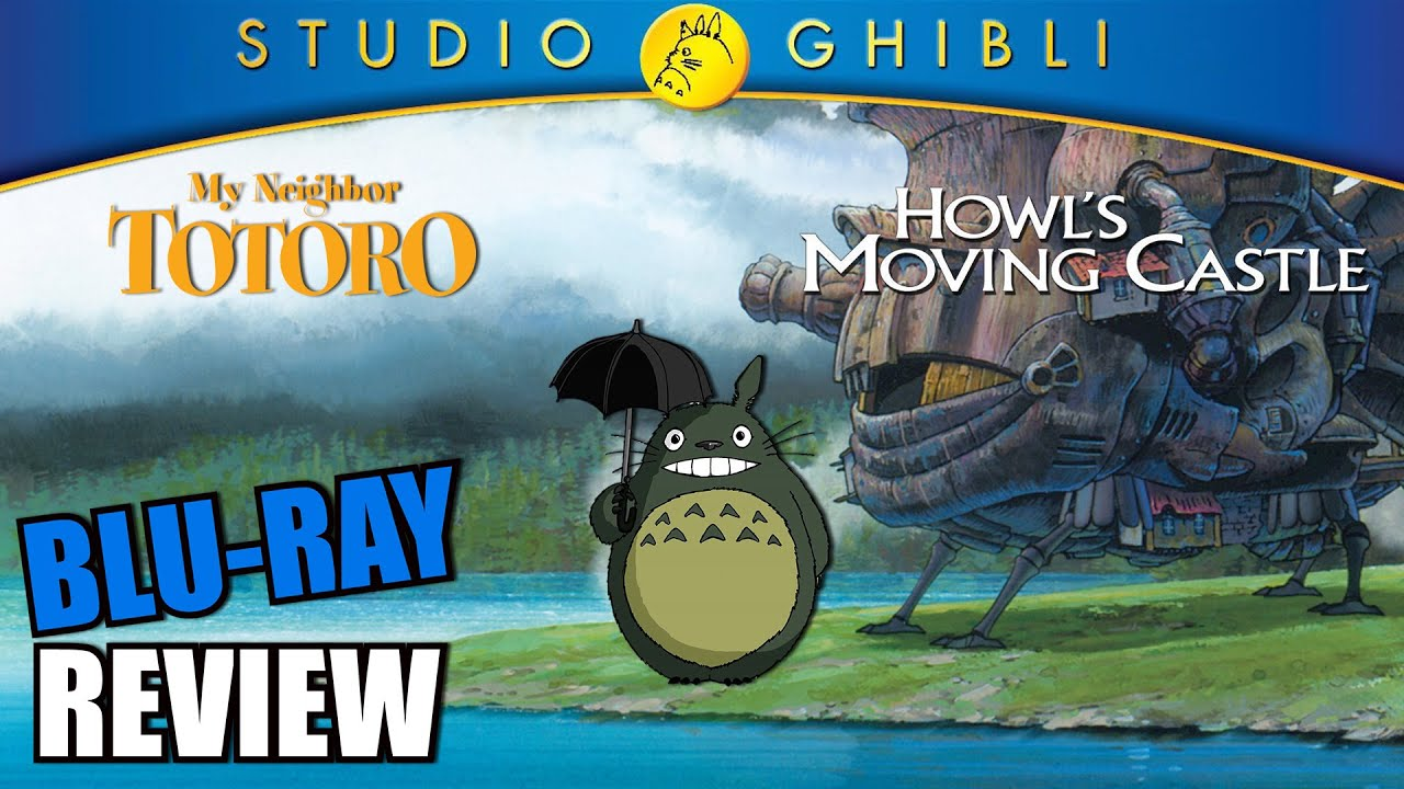 My Neighbor Totoro Blu Ray: My Neighbor Totoro And Howl's Moving Castle Blu-ray Review