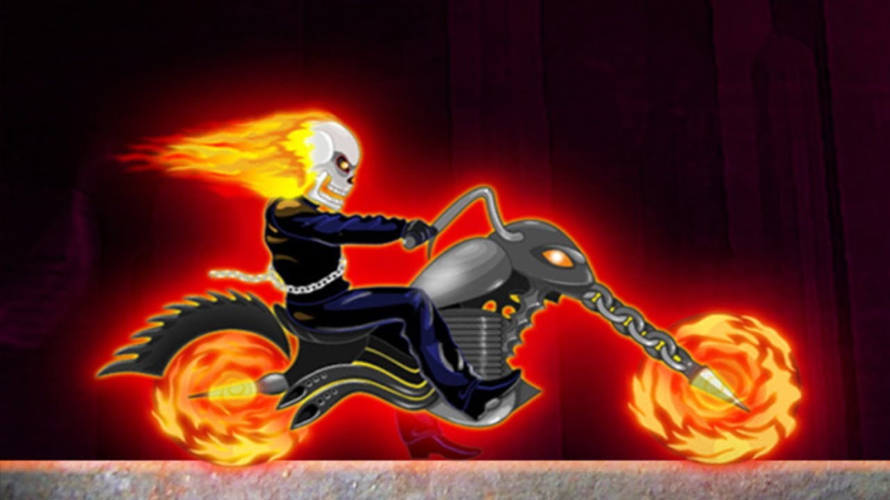 Ghost Rider Games For Kids